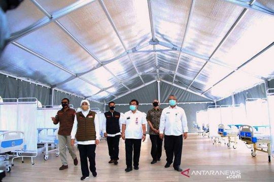 500 pasien bisa ditampung di RS Lapangan COVID-19 Surabaya