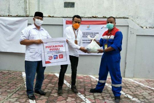 Pertamina-Sinergi BUMN salurkan 3.894 paket bantuan