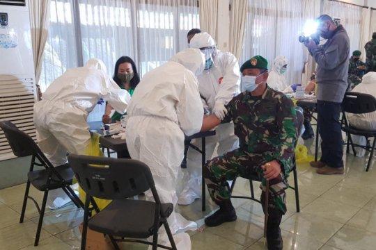Korem 172/PWY Jayapura lakukan rapid test prajurit TNI