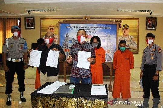 Polres Badung tangkap tiga tersangka pemalsuan surat dan dokumen
