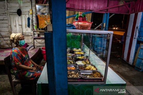 Warung makan di jalur Pantura sepi pengunjung