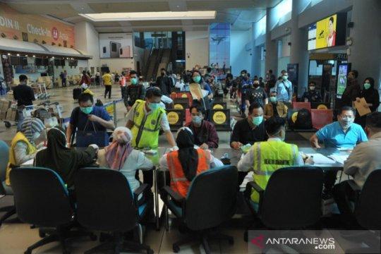 Penumpang di Bandara SMB II Palembang hanya 234 orang per hari
