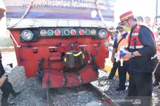 Gubernur apresiasi penggunaan KA untuk angkutan batu bara di Sumsel