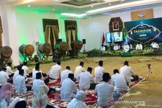 Gubernur Jatim pimpin takbiran daring sambut Idul Fitri 1441 H
