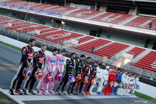 Para pebalap F1 mendukung penuh rencana balapan tanpa penonton
