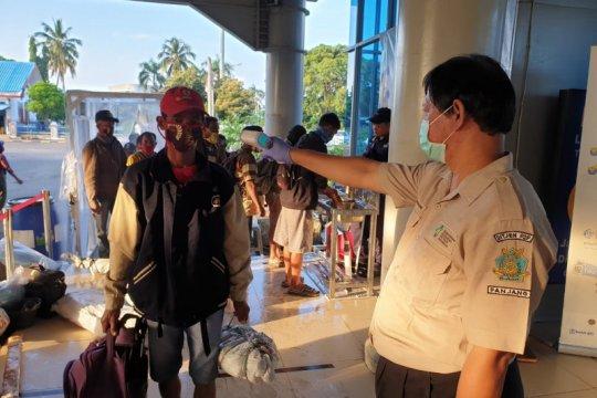 2.447 orang mudik melalui Pelabuhan Bakauheni hingga Sabtu pagi