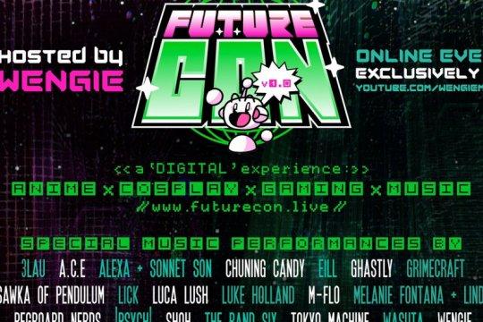 "Festival musik dan anime ""FutureCon"" digelar virtual"