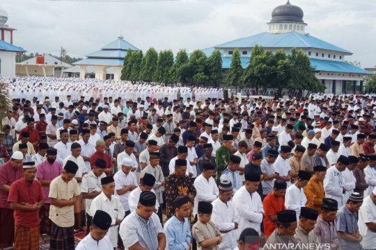 Sebagian warga Nagan Raya sudah rayakan Idul Fitri 1441 H