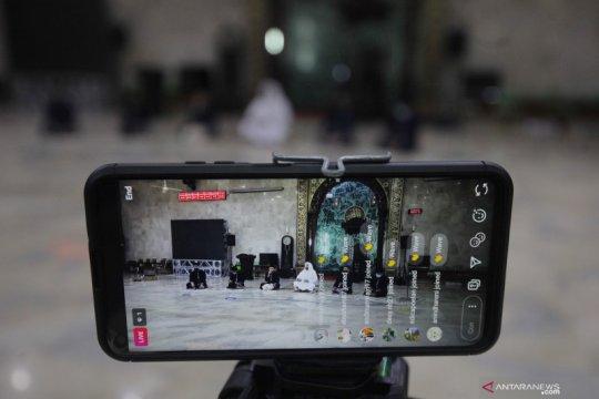 Gema takbir secara virtual dari Masjid Agung Sunda Kelapa