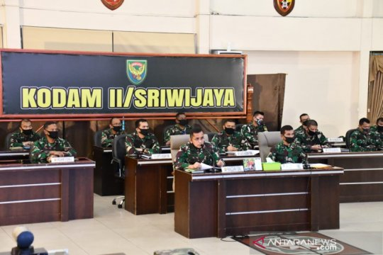 Kodam Sriwijaya perketat pos penjagaan PSBB di dua kota