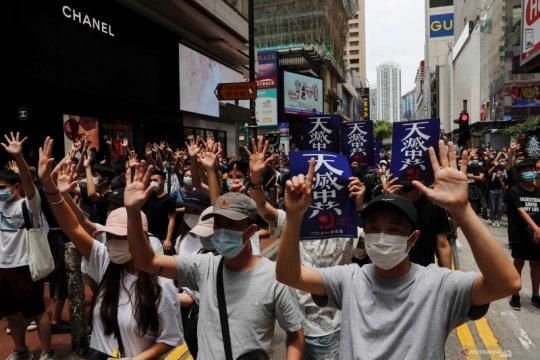 Hong Kong kembali bergejolak