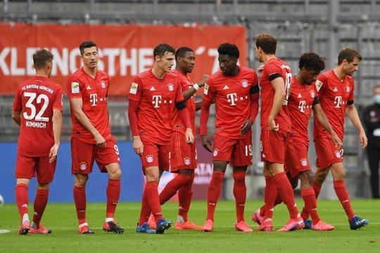 Klasemen Liga Jerman, Bayern jaga keunggulan empat poin