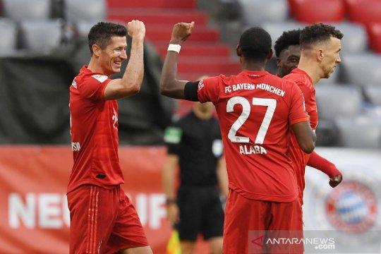 Bayern torehkan rekor baru, kemas 80 gol dalam 27 pertandingan