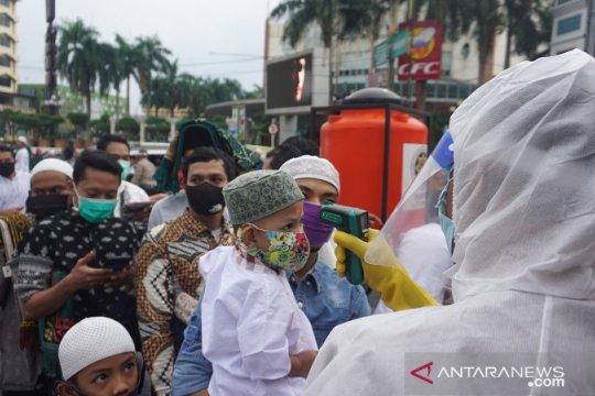 Masjid di Medan gelar Shalat Id dengan protokol kesehatan