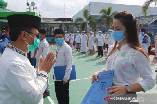 3.727 warga binaan di Riau peroleh remisi Idul Fitri