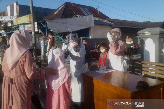 Terapkan protokol, sebagian masjid di Curup-Bengkulu gelar shalat id