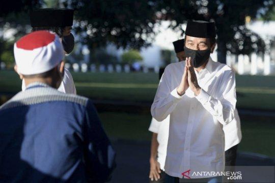 Presiden: Pembukaan tempat ibadah melalui tahapan ketat