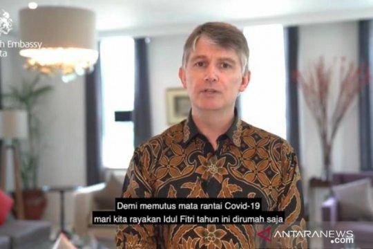 Ucapkan selamat Idul Fitri, Dubes Inggris serukan lebaran di rumah