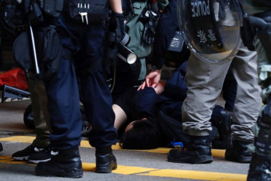 Parlemen China sahkan UU keamanan nasional Hong Kong