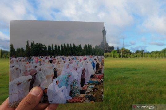 Perbandingan suasana Idul Fitri di Bali