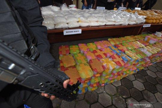 Komisi III apresiasi Polri ungkap kasus narkoba 821 kg