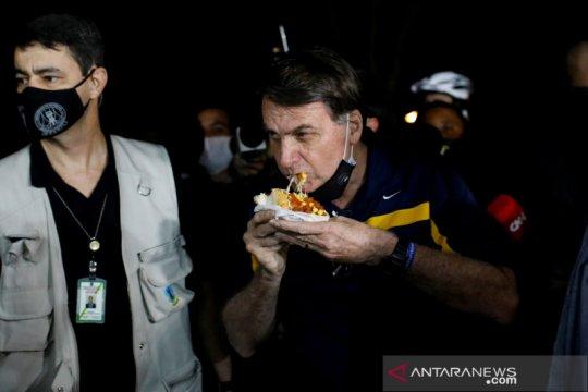 Hakim minta Presiden Brazil Bolsonaro pakai masker