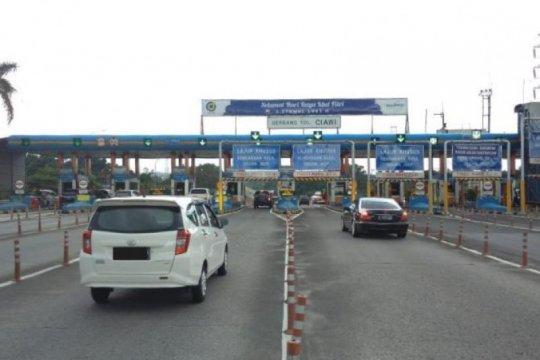 Hingga H-1, Jasa Marga catat 465 ribu kendaraan tinggalkan Jakarta