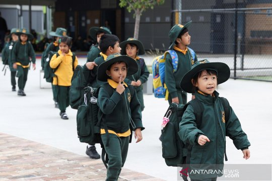 COVID-19 mulai mereda, sekolah di Sidney dibuka kembali