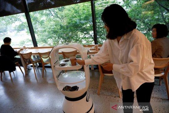Kafe di Korsel gunakan robot untuk layani pelanggan