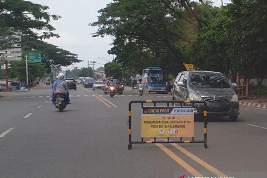Dinas Perhubungan Palembang terapkan sanksi pelanggar PSBB