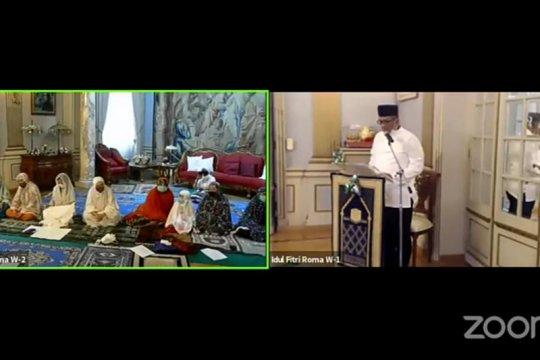 KBRI Roma gelar Idul Fitri virtual bersama WNI di Italia