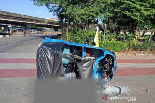 Sopir Transjakarta akui keluar jalur saat kecelakaan