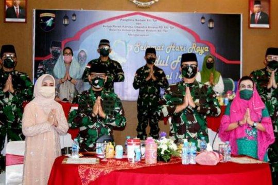 Kodam Tanjungpura gelar halal bi halal secara virtual dimasa COVID-19