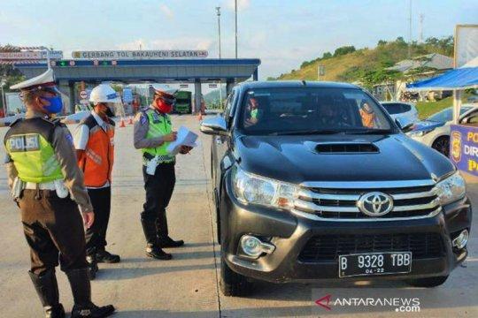 Hingga Lebaran, 310 ribu kendaraan lintasi Tol Trans Sumatera