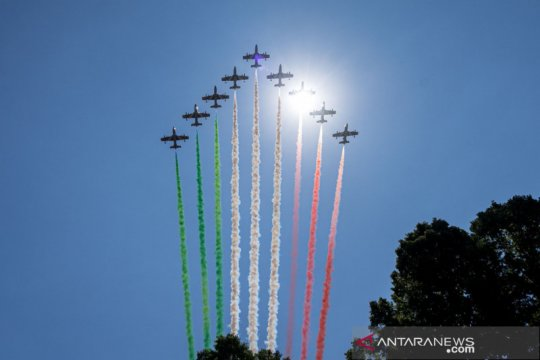 Solidaritas Italia hadapi COVID-19