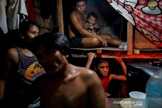 Potret kehidupan warga miskin Kota Manila, Filipina saat pandemi COVID-19