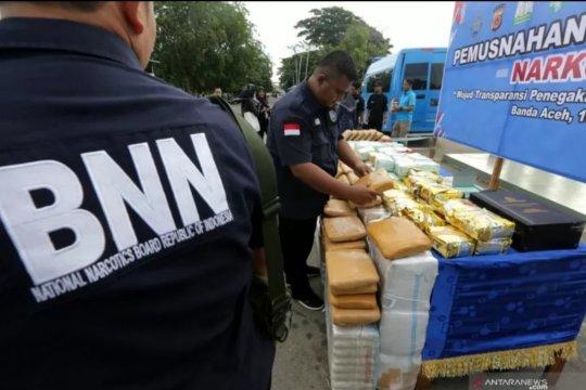 BNNP Kepri amankan satu kg sabu-sabu dari dua pelaku di Bintan