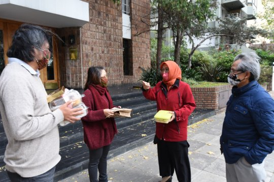 Penguncian diperpanjang, KBRI Buenos Aires gelar halalbihalal virtual