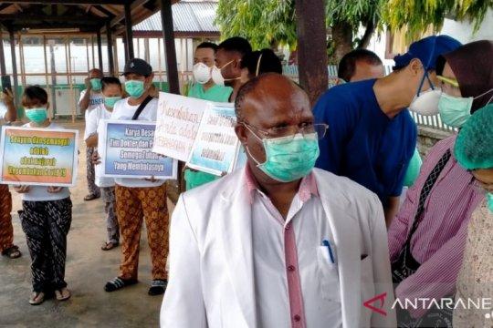 RSUD Jayapura rawat 132 pasien positif COVID-19