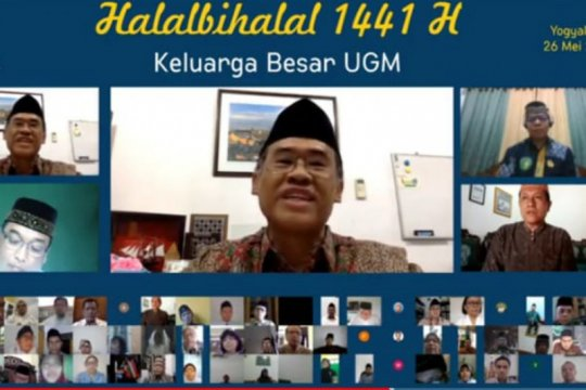 UGM gelar halalbihalal secara virtual hindari penyebaran COVID-19
