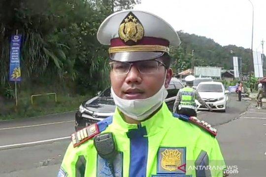 Jalur Puncak Bogor dipadati kendaraan Jakarta pascalebaran
