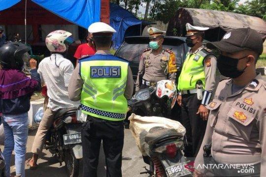 Polisi cegah warga pendatang masuk Bengkulu