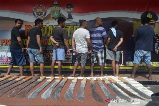 Polisi tangkap tujuh pelaku pengeroyokan petugas ronda