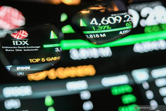 IHSG terus menanjak seiring aksi beli investor asing