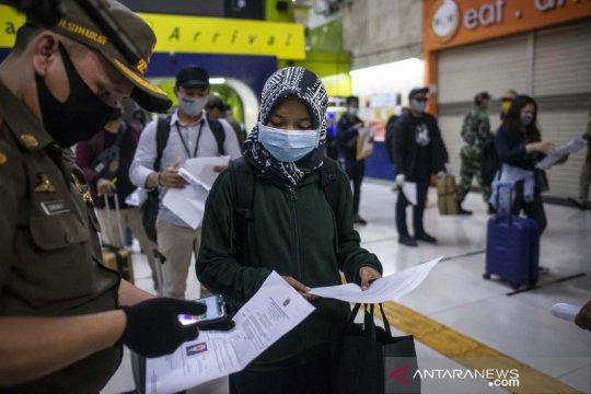 Belasan calon penumpang kereta dari Tugu tidak penuhi syarat berangkat