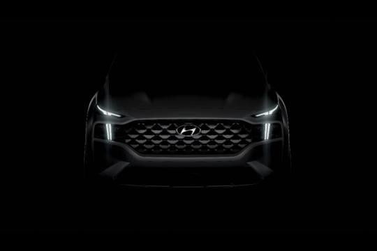 Hyundai ungkap Santa Fe terbaru