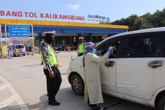 10 ribu polisi dikerahkan untuk sekat pemudik di perbatasan Jateng