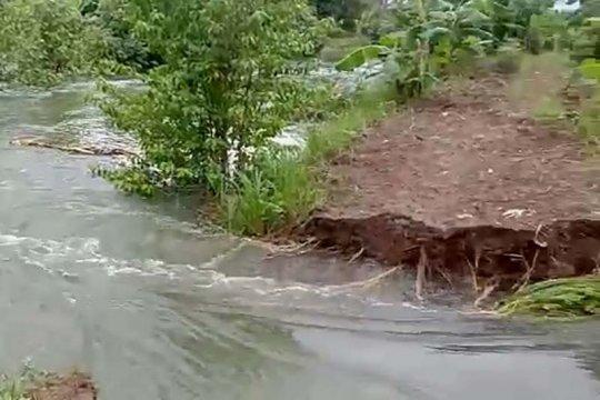 Puluhan rumah di Ujungmanik Cilacap terendam banjir