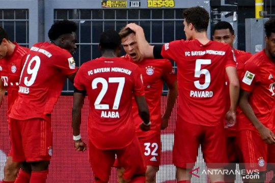 Pemain Bayern terima pemotongan gaji hingga akhir musim