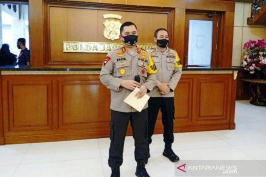 Polda Jatim perketat penjagaan di perbatasan cegah warga ke Ibu Kota